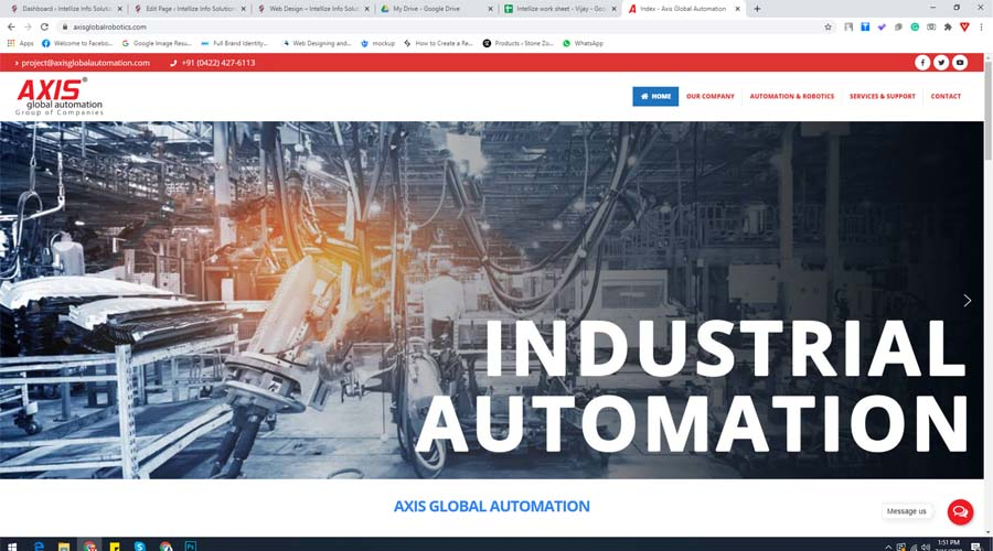 axis global robotics