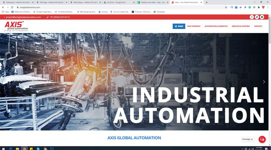 axis global robotics